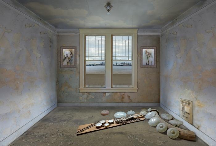 Courtesy of LeMieux Galleries,  Acipenser,  40 x 60, Debra Howell