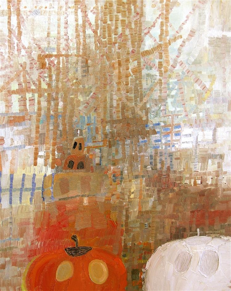 Boo,  2010, Oil on Canvas, Josette Urso