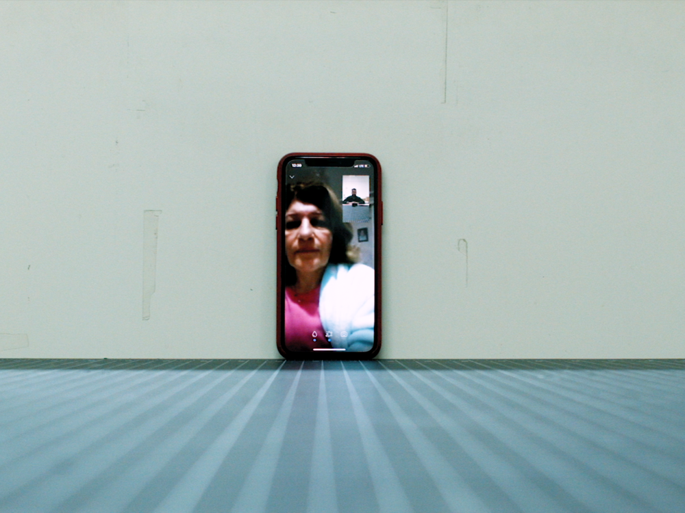1991     1991  revolves around a conversation between the filmmaker, an Iraqi asylum-seeker living in the US, and his mother Bushra Alsaegh, an Iraqi immigrant living in Turkey while she awaits approval to immigrate to the US. 1991 navigates the distance between them.  Saif Alsaegh  USA, 2018, 12:00 mins  Visit the   artist's Vimeo page here  .