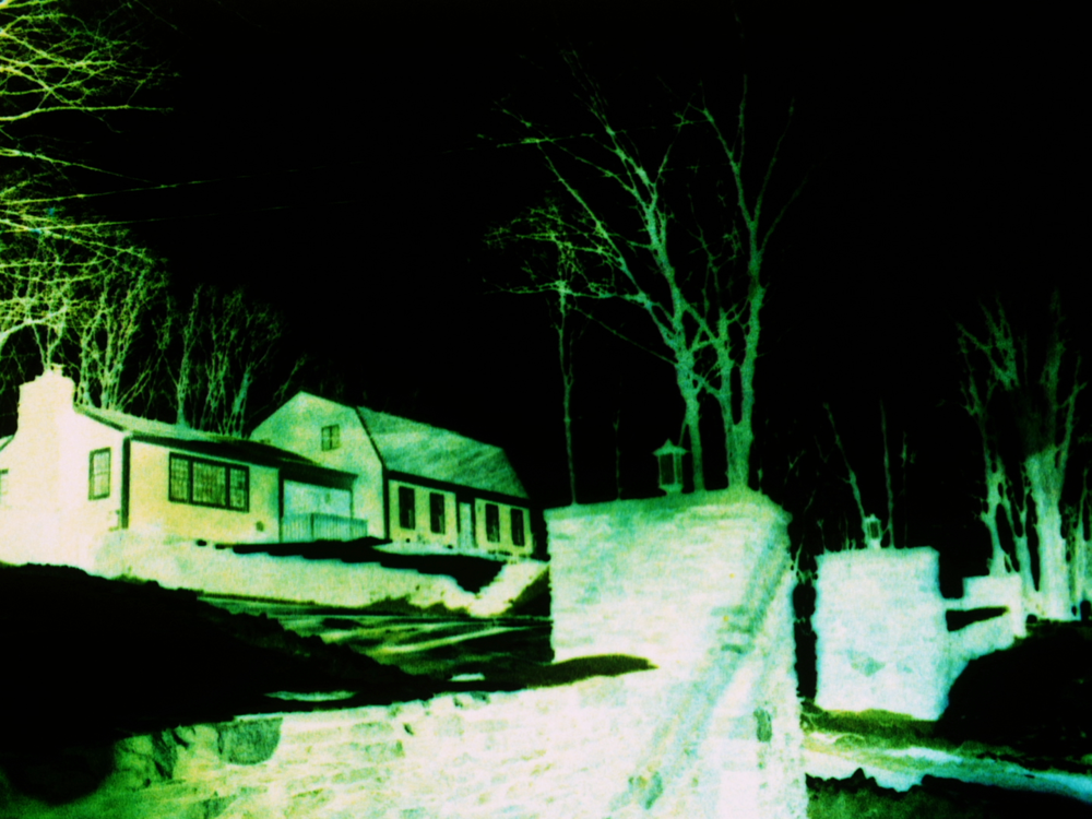 601 Revir Drive    A series of spatial limits are defined while a maker imbibes. Interdependence is inherited after a substance cannot be shaken. An animal carefully guards an outlined space as a river runs backwards.  Josh Weissbach  USA, 2017, 9:00 mins  Visit the   artist's Vimeo page here  .