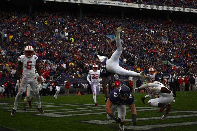 Northwestern v. Wisconsin football game recap