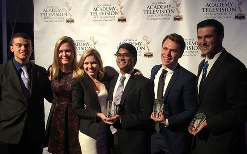Medill students win big at Chicago/Midwest Emmy awards