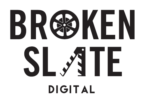 BROKEN SLATE DIGITAL   Logo, Business Cards