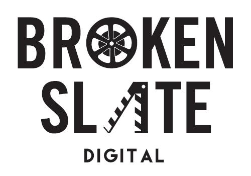 BROKEN SLATE DIGITAL  Logo, Business Cards