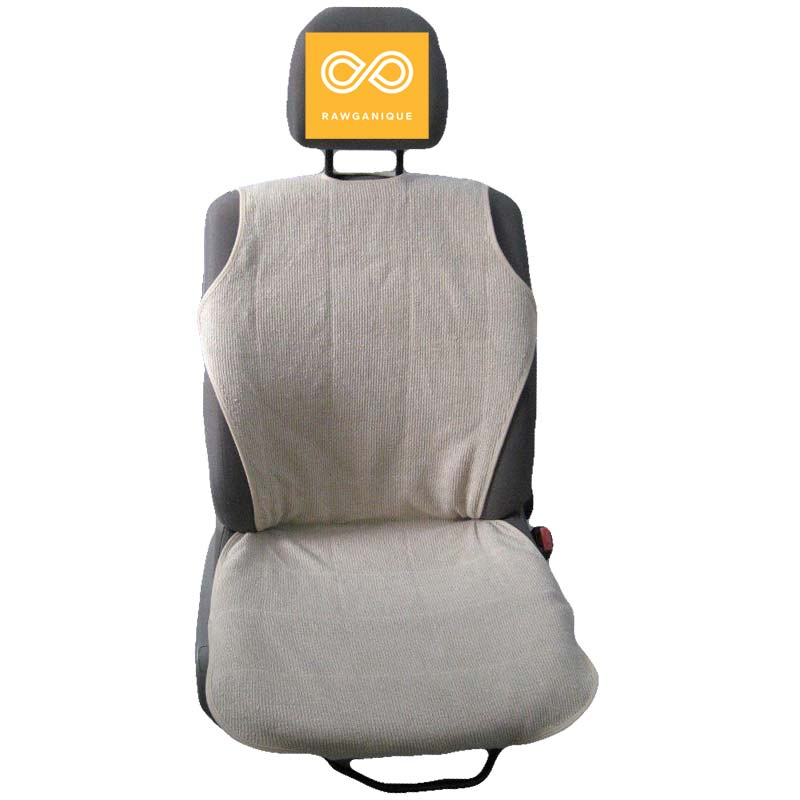 100% Organic Hemp Car Seat Cover protects you from direct contact with fire retardants and other toxic chemicals found in cars.