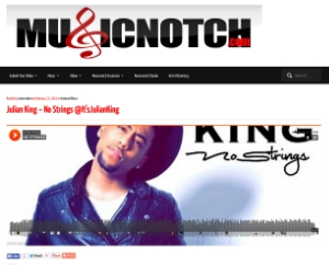 Music notch - Julian King - No Strings Grab