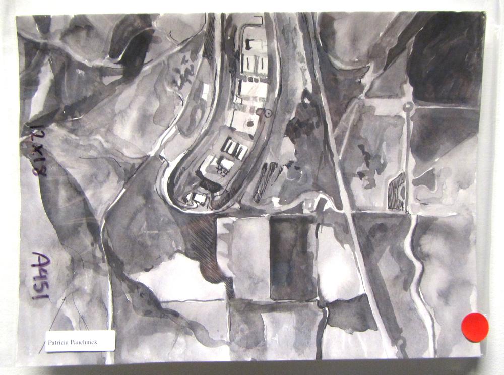 Artwork from the MDR:NSA Utah Data Center, Ink on Paper