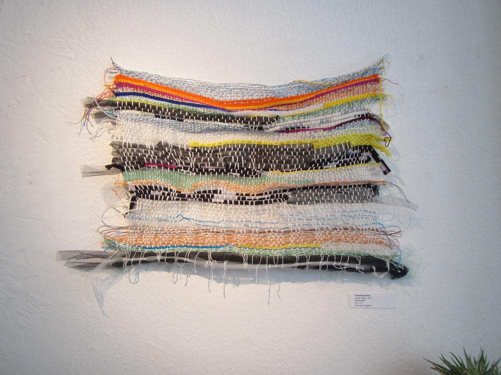 Weaving by Kendall Berardino.