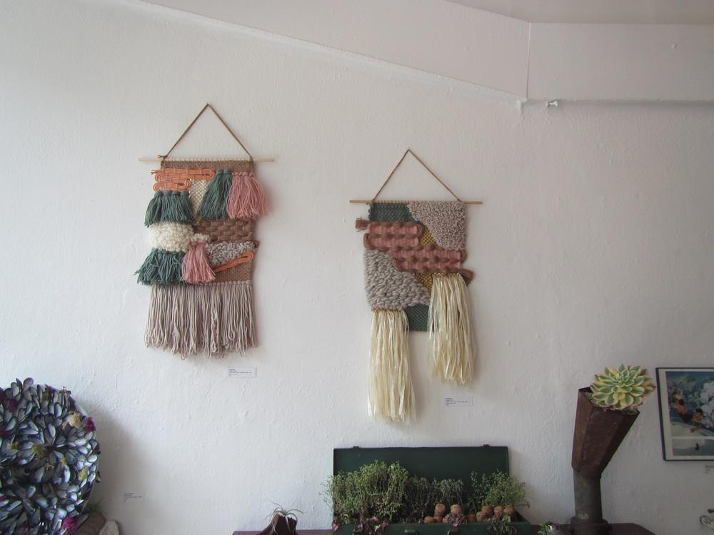 Weavings by Ai Buenafe.