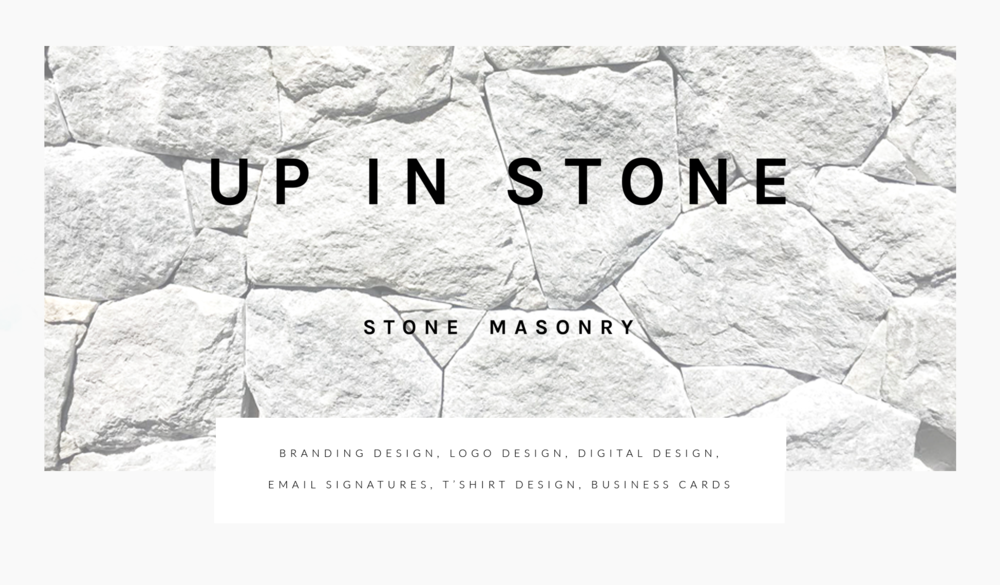 Up In Stone - Design By Klo