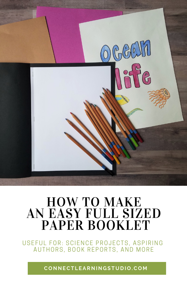 3 Ways to Make a Paper Book - wikiHow | 900x600