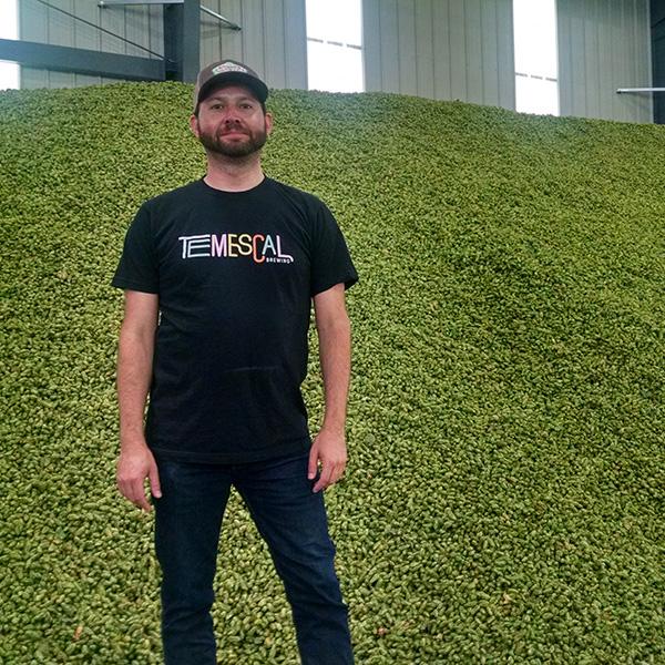 In Yakima for hop harvest