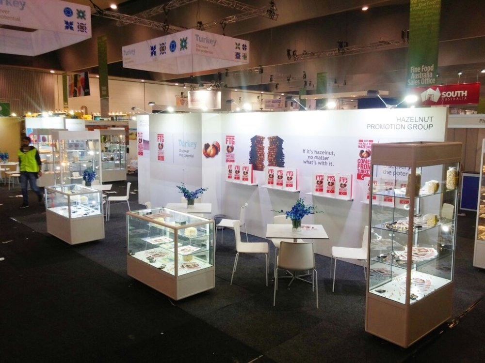 FINE FOOD AUSTRALIA EXHIBITION STANDS AND TRADE SHOW DISPLAYS