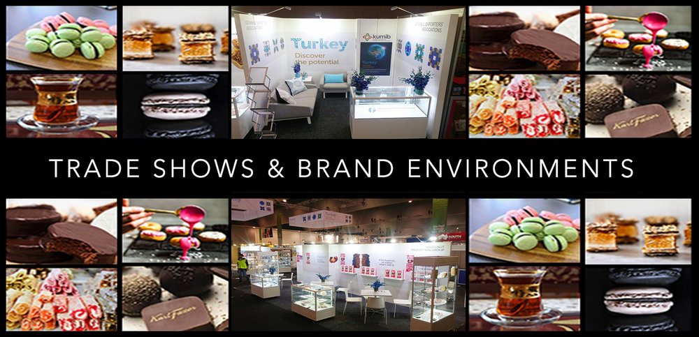TRADE SHOWS & BRAND ENVIRONMENTS