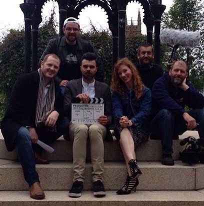 Some of the cast and crew of Conclusions