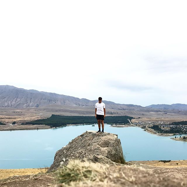 Lake Tekapo - drank from it, swam in it, got stiff nipples from it, meditated by it, absolutely in awe of it.