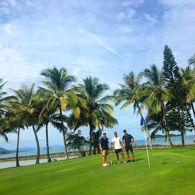Le Tropical Golf courtesy of New Caledonia 🐠