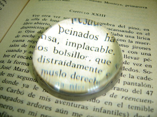 Pinning words to page