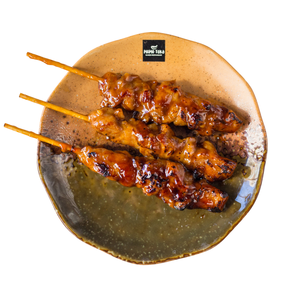 Yakitori -5,50€ - Chicken Skewers & Sweet Soy Sauce(SP)