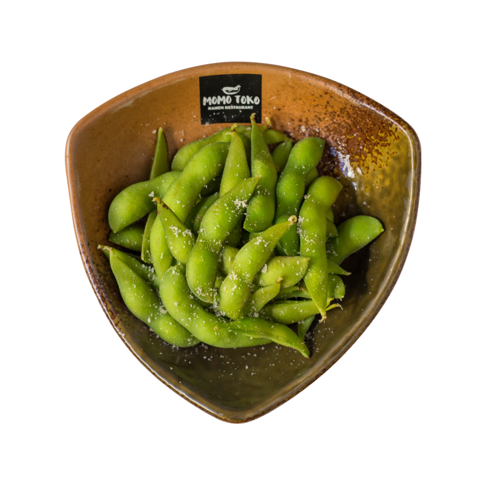 Edamame -3,50€ - Boiled Edamame Beans & Seasalt