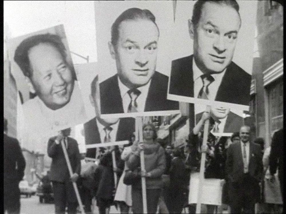 Öyvind Fahlström, Mao-Hope March, 1966 © Sharon Avery-Fahlström