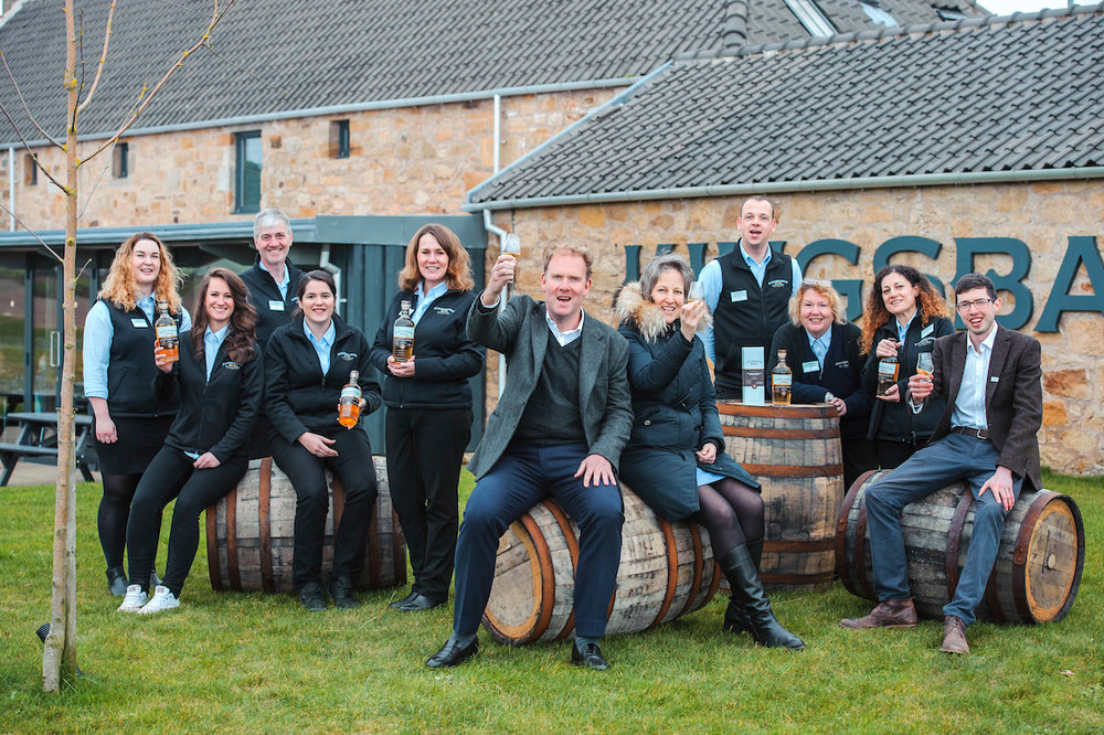Kingsbarns Distillery team