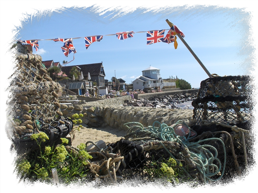 Steephill Cove postcard