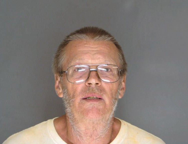 Gerald Duane Skolte mugshot after allegedly shooting tenant over a dispute at rental property.