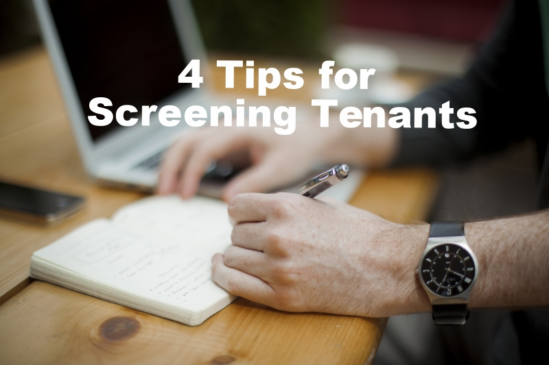4 tips for screening tenants for landlords