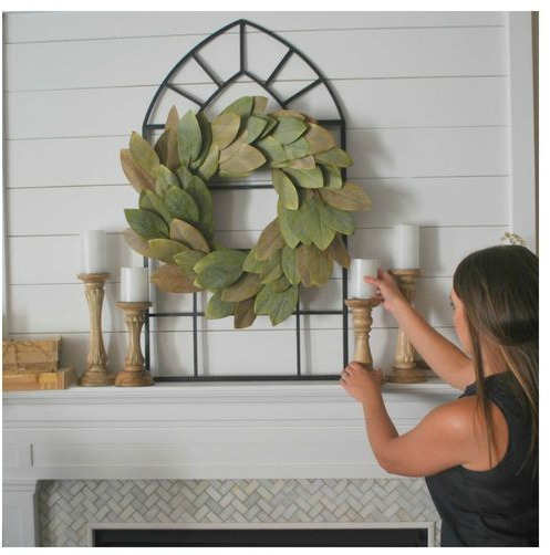 Plum Pretty Decor Design Co How To Decorate Your Mantel