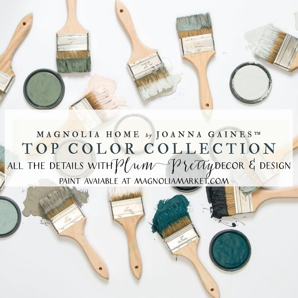 Plum Pretty Decor Amp Design Co Magnolia Home Paint Joanna Gaines Releases New Paint Collection