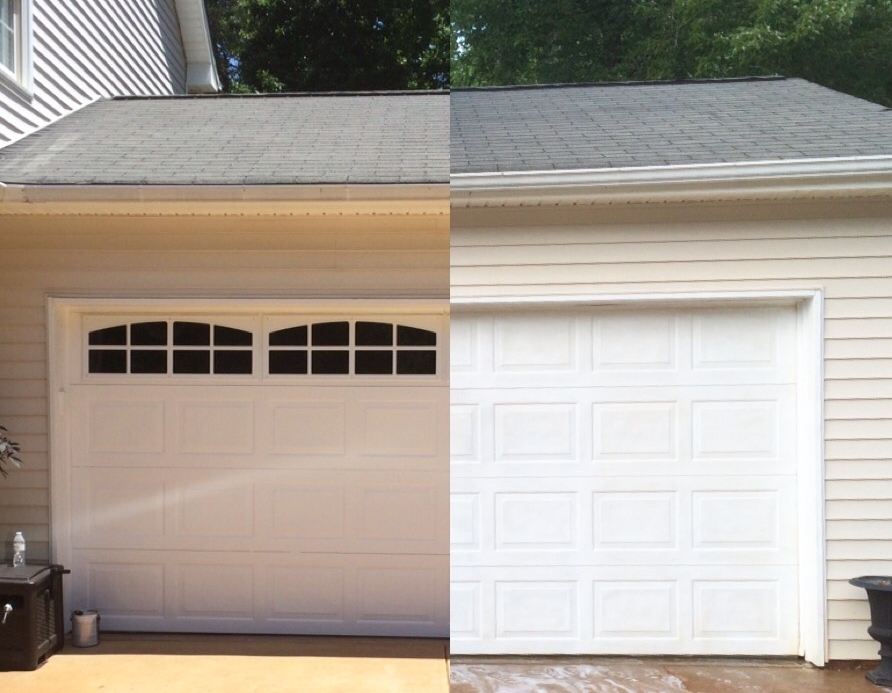 Plum prettyfaux carriage style garage doors diy for Build carriage garage doors
