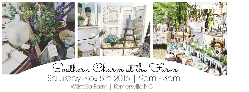 Souther Charm at the Farm Fall Antique and Craft Show