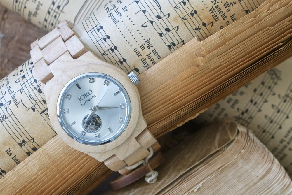 Jord Watch- Interior Designer Styled- Old Hymnals