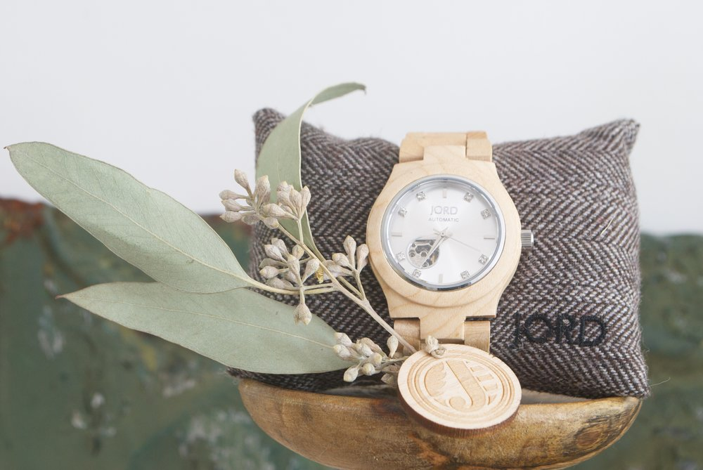 Jord Watch- Wooden Watch Giveaway