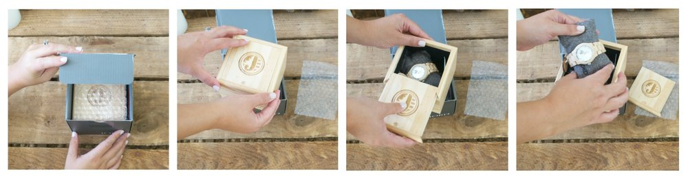 Jord Watch- Wooden Timepiece Beautiful Packaging with Wooden Box