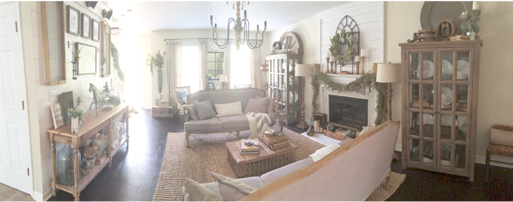 Plum Pretty Decor Design Co My Cozy French Farmhouse Living Room
