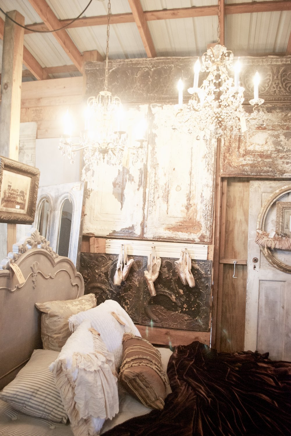 The French Farmer's Wife- Barn Sale- Cinderella Room