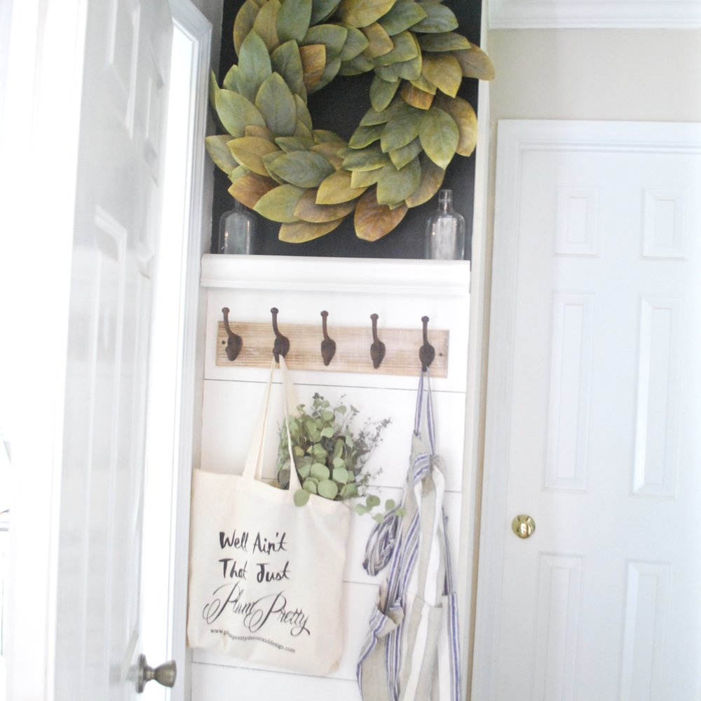 Shiplap Entry way by Plum Pretty Decor and Design