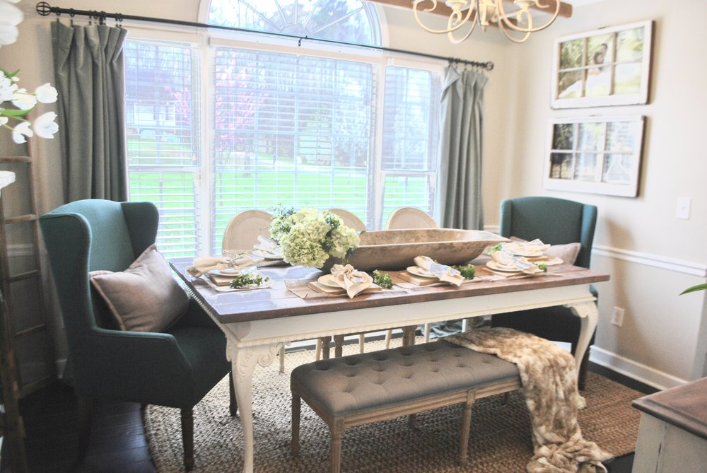 Charmant Farmhouse Style Dining Room By Plum Pretty Decor And Design
