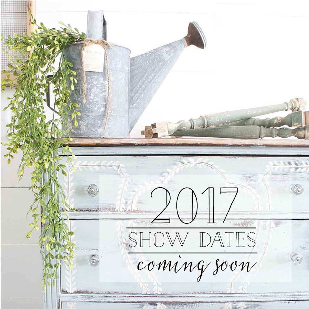 2017 Show Dates Coming Soon- Plum Pretty Decor and Design
