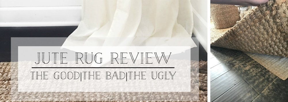 Jute Rug Review- All revealed- The good, the bad, the ugly- But why I still love them