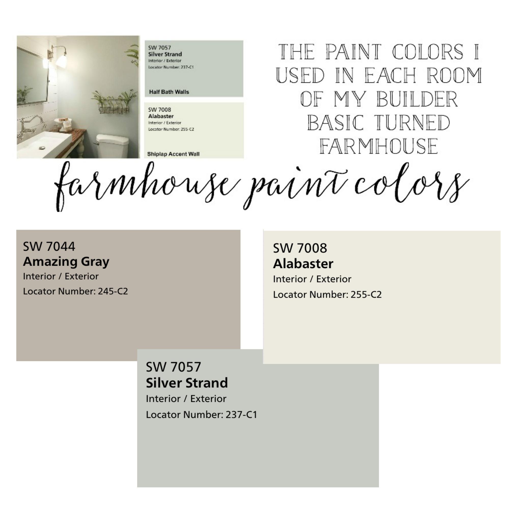 Plum Pretty Decor Design Co Farmhouse Paint Colors The