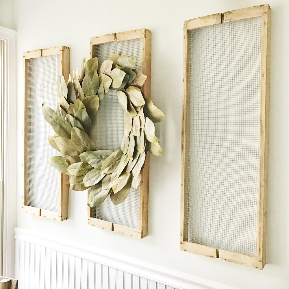 Farmhouse Wall Decor- Old Antique Drying Racks