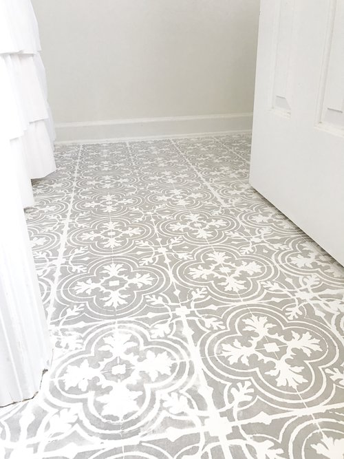Plum Pretty Decor & Design Co.How to Paint Your Linoleum or Tile ...