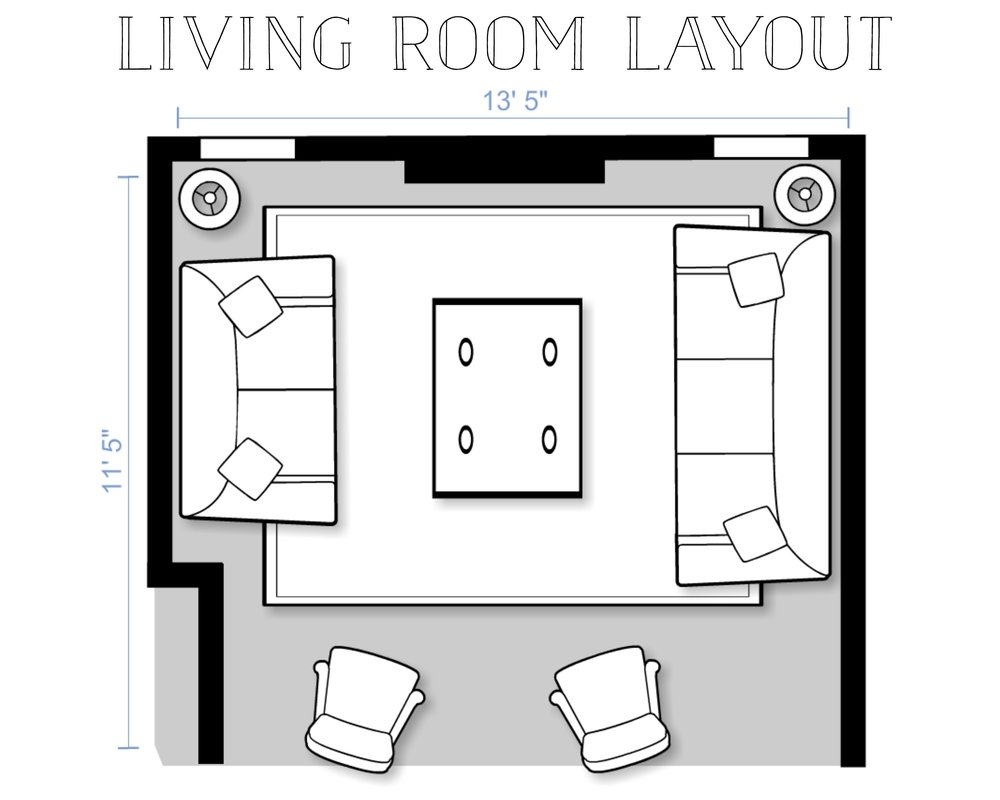 Living Room Layout Design