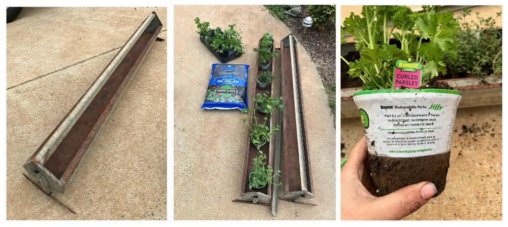 Materials Needed for Your Hanging Herb Garden