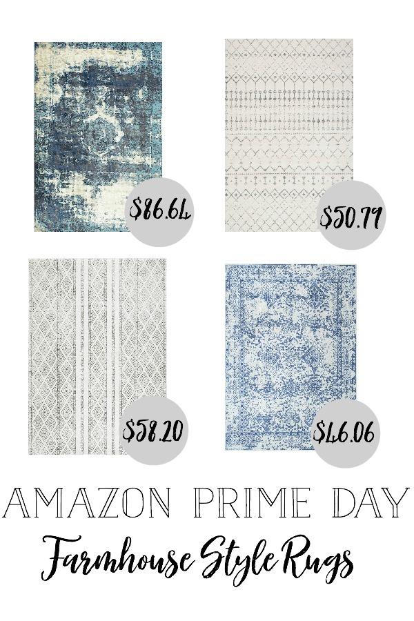 Amazon Prime Day Farmhouse Style Rugs