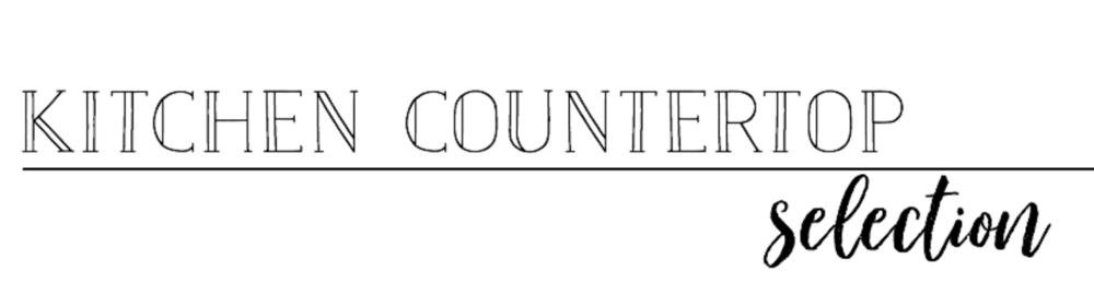 Plum Pretty THOMAS KITCHEN COUNTERTOP — Plum Pretty Decor and Design ...