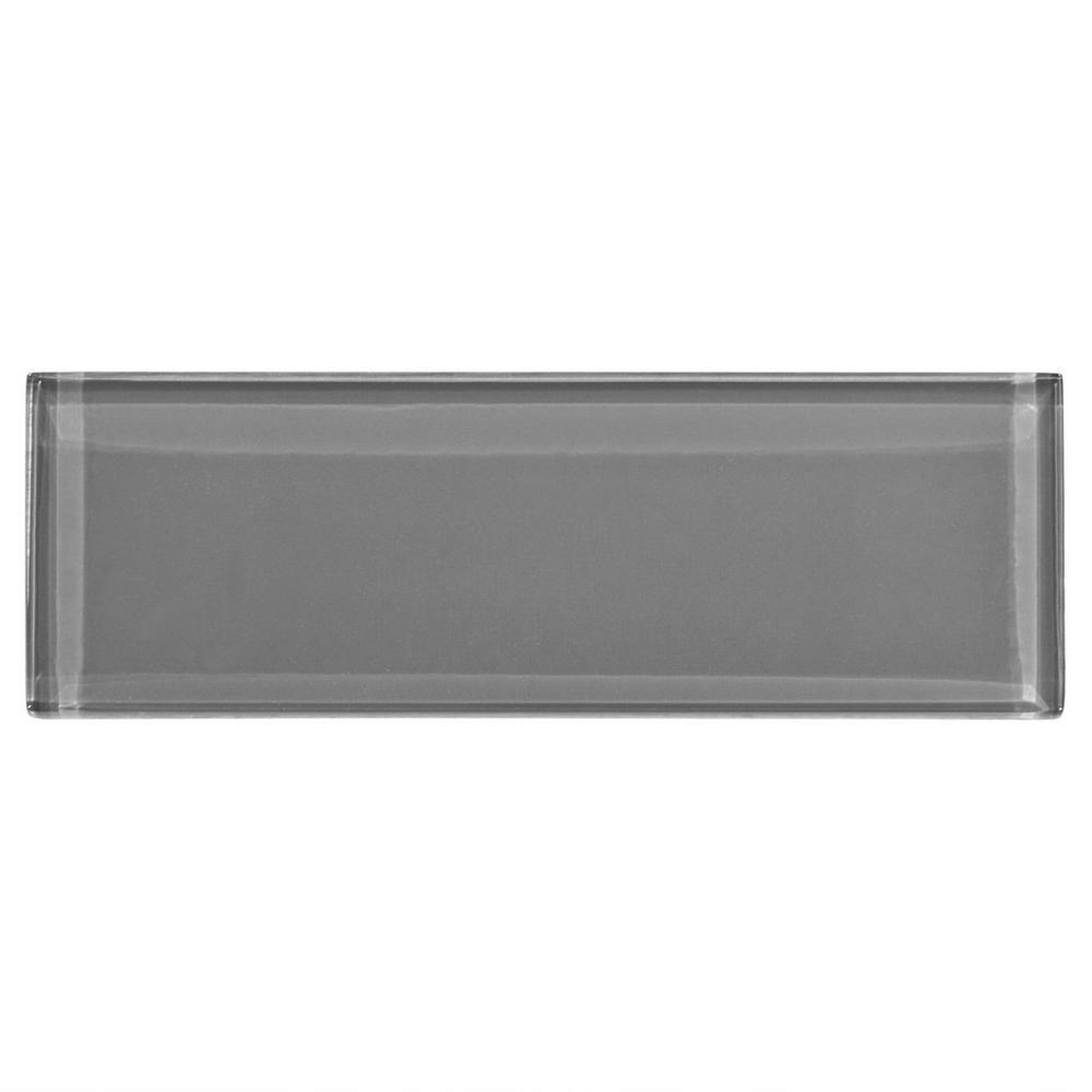Pure Shadow Glass Tile - $3.49 per/piece or $7.99 for smaller mosaic in same color